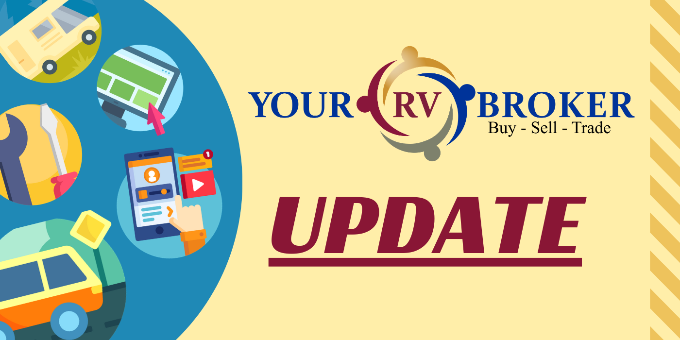 Update From Your RV Broker