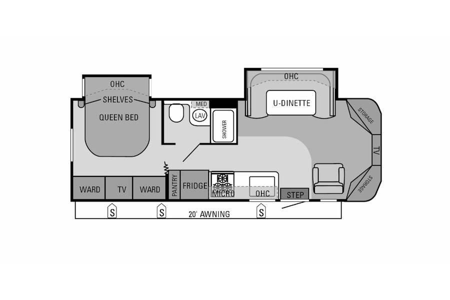 Floor plan for STOCK#A13117
